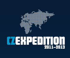 Logo CZEXPEDITION 2011-2013